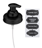 Mason Jar Foaming Soap Dispenser Lids - Black - 1 Pack